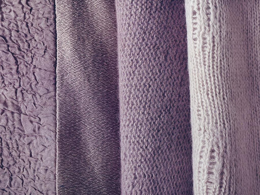 Tintura campeggio su tessuti vari