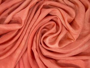 Tintura robbia su seta